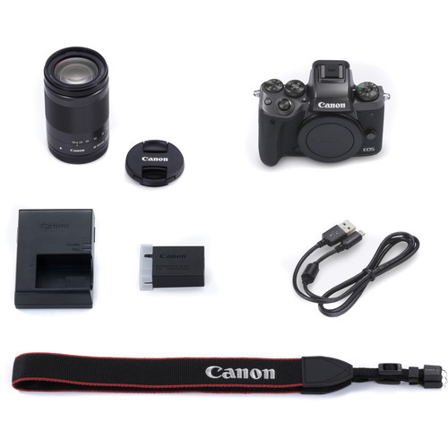 Canon EOS M5 negru Kit EF-M 18-150mm IS STM 6