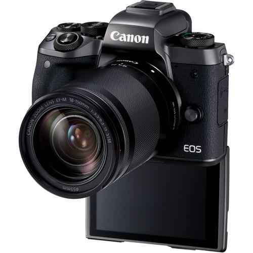 Canon EOS M5 negru Kit EF-M 18-150mm IS STM 3