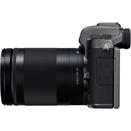 Canon EOS M5 negru Kit EF-M 18-150mm IS STM 2