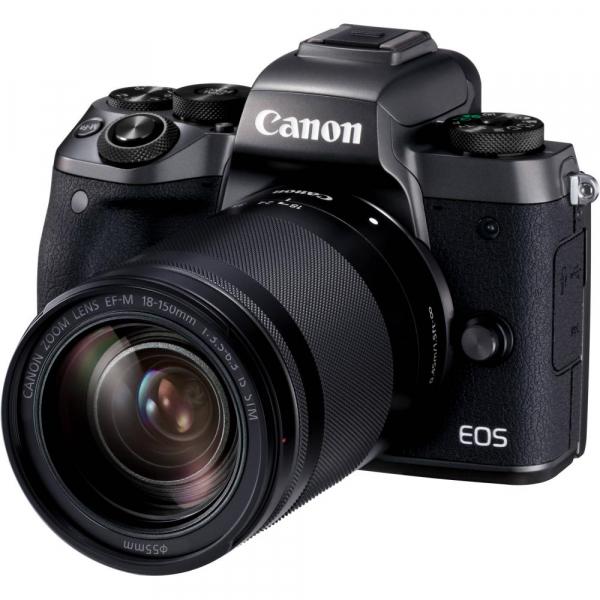 Canon EOS M5 negru Kit EF-M 18-150mm IS STM 0