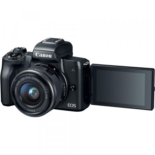 Canon EOS M50 + Canon 15-45mm IS negru EF-M 55-200mm f4.5-6.3 IS STM 4