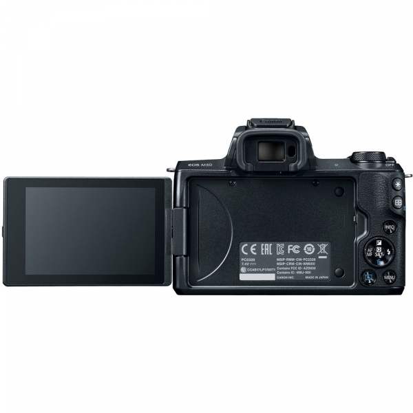 Canon EOS M50 + Canon 15-45mm IS negru EF-M 55-200mm f4.5-6.3 IS STM 5