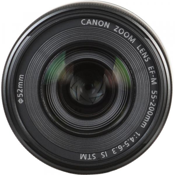 Canon EOS M50 + Canon 15-45mm IS negru EF-M 55-200mm f4.5-6.3 IS STM 8