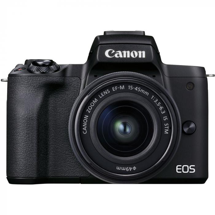 CANON EOS M50 MARK II Aparat foto Mirrorless Kit cu Canon EF-M 18-150mm F3.5-6.3 IS STM, Negru [9]