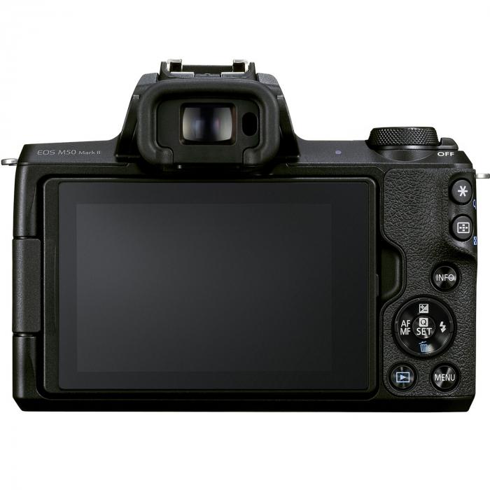 CANON EOS M50 MARK II Aparat foto Mirrorless Kit cu Canon EF-M 18-150mm F3.5-6.3 IS STM, Negru [4]