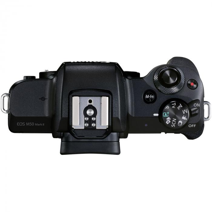 CANON EOS M50 MARK II Aparat foto Mirrorless Kit cu Canon EF-M 18-150mm F3.5-6.3 IS STM, Negru [11]