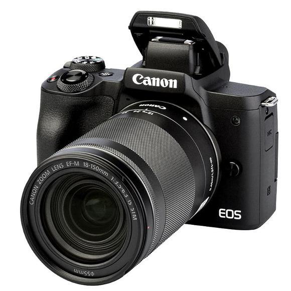 CANON EOS M50 MARK II Aparat foto Mirrorless Kit cu Canon EF-M 18-150mm F3.5-6.3 IS STM, Negru [0]