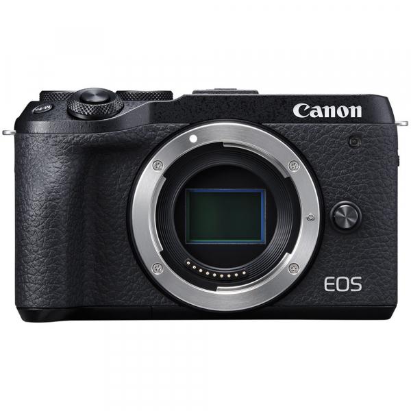 Canon EOS M6 Mark II body, 32.5MP, 4K - negru 1