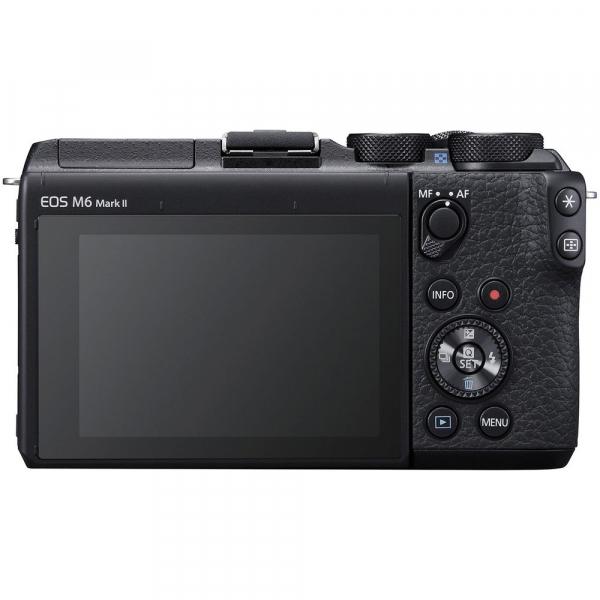 Canon EOS M6 Mark II body, 32.5MP, 4K - negru 2