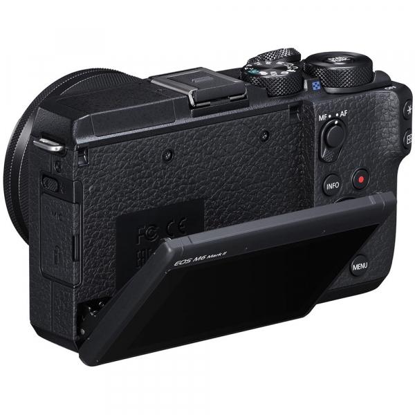 Canon EOS M6 Mark II body, 32.5MP, 4K - negru 3