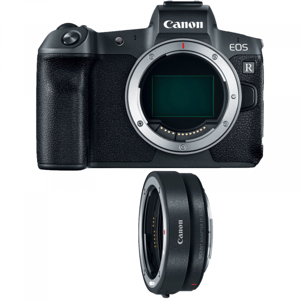 Canon EOS R, Mirrorless 30MP, 4K + Adaptor Standard Canon EF-EOS R (Inchiriere) 0