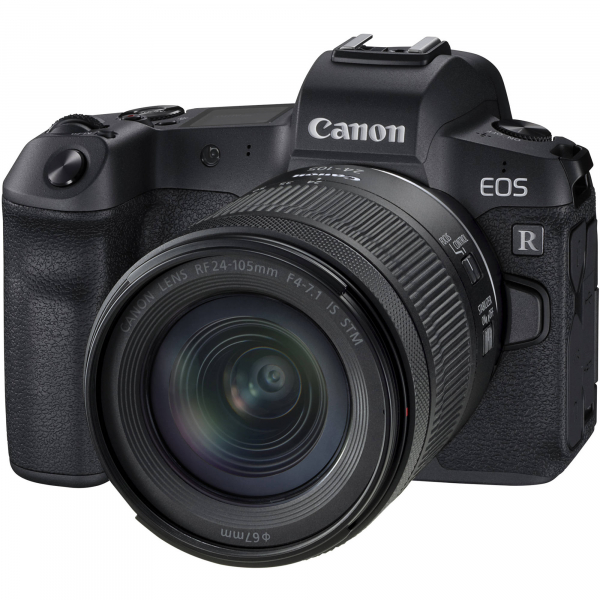 Canon EOS R Mirrorless Digital Camera 30MP, 4K  Kit cu RF 24-105mm f/4-7.1 IS STM 7