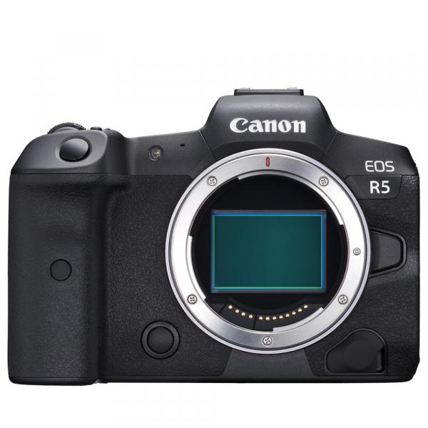 Canon EOS R5, Aparat Foto Mirrorless Full Frame, 8K - body 0