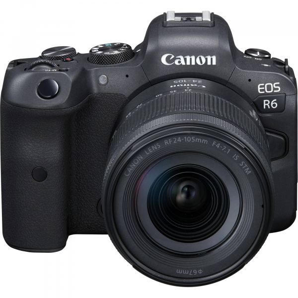 Canon EOS R6 Aparat Foto Mirrorless 20.1 MP Full-Frame 4K Kit cu Obiectiv RF 24-105mm F/4-7.1 IS STM 1
