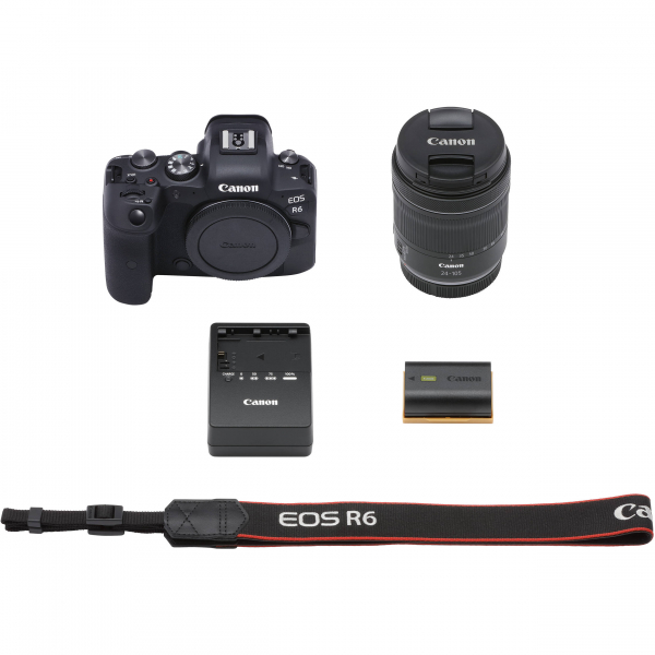 Canon EOS R6 Aparat Foto Mirrorless 20.1 MP Full-Frame 4K Kit cu Obiectiv RF 24-105mm F/4-7.1 IS STM 6