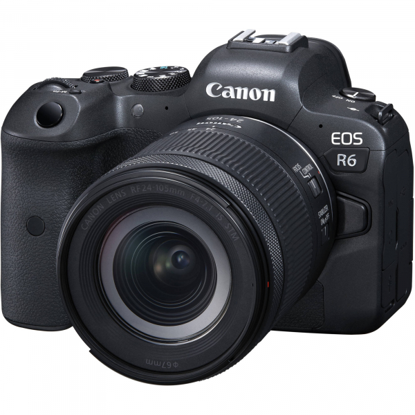 Canon EOS R6 Aparat Foto Mirrorless 20.1 MP Full-Frame 4K Kit cu Obiectiv RF 24-105mm F/4-7.1 IS STM 0