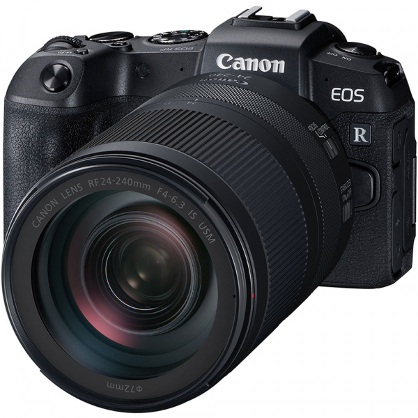 Canon EOS RP, Mirrorless 26MP, 4K - body + Canon RF 24-240mm f4-6.3 IS USM 0