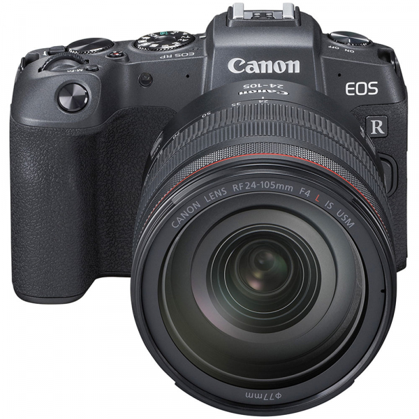 Canon EOS RP Mirrorless Kit cu Canon RF 24-105mm f4 L IS USM + Adaptor Standard Canon EF-EOS R 2