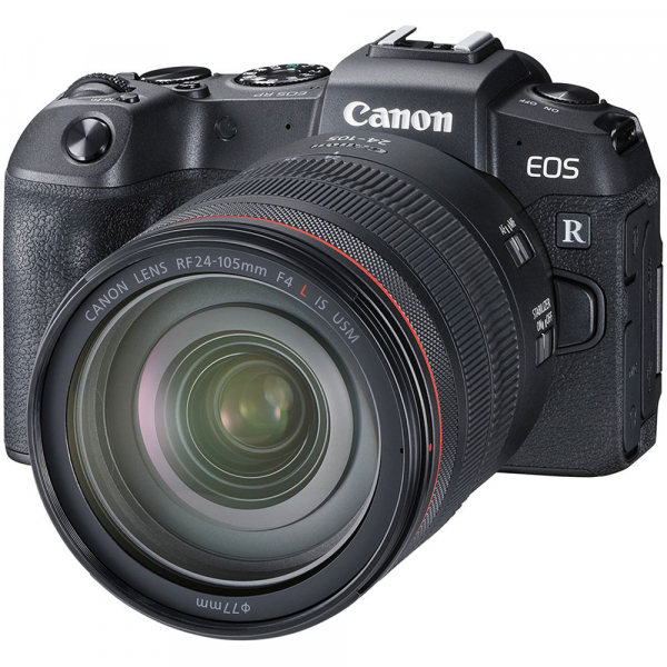 Canon EOS RP Mirrorless Kit cu Canon RF 24-105mm f4 L IS USM + Adaptor Standard Canon EF-EOS R 1