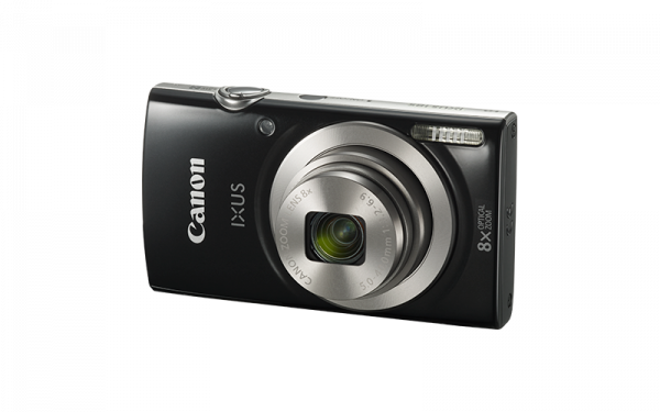 Canon IXUS 185 - negru + husa CaseLogic + card  Kingston microSD 2GB cu adaptor SD [0]