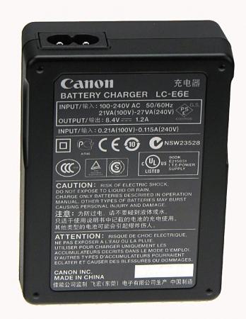 Canon LC-E6 , incarcator pentru acumulatorul LP-E6 1