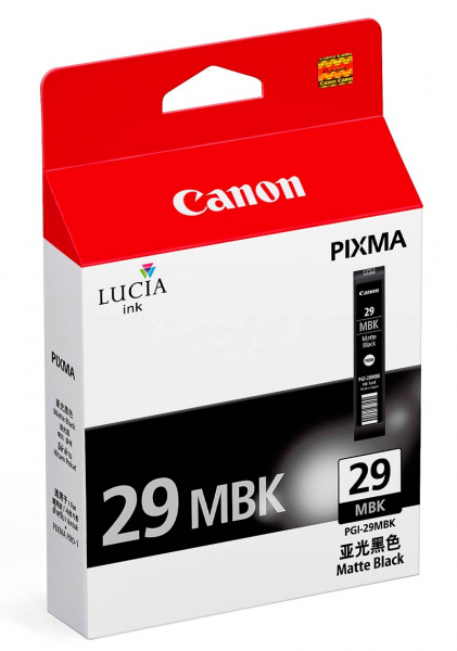 Canon PGI-29MBK Negru Mat - cartus imprimanta Canon Pixma PRO-1 [0]