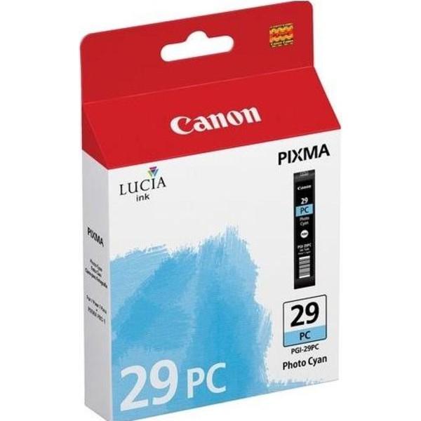 Canon PGI-29PC Cyan Foto - cartus imprimanta Canon Pixma PRO-1 0
