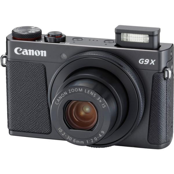 Canon Powershot G9X Mark II - Negru 1