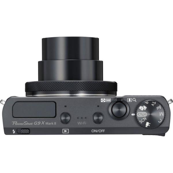 Canon Powershot G9X Mark II - Negru 3