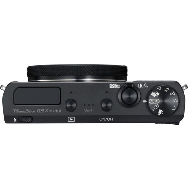 Canon Powershot G9X Mark II - Negru 4