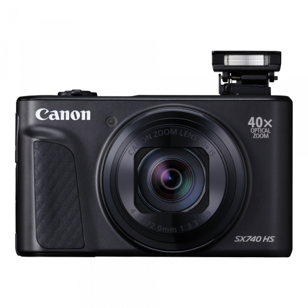 Canon PowerShot SX740 HS Negru 4
