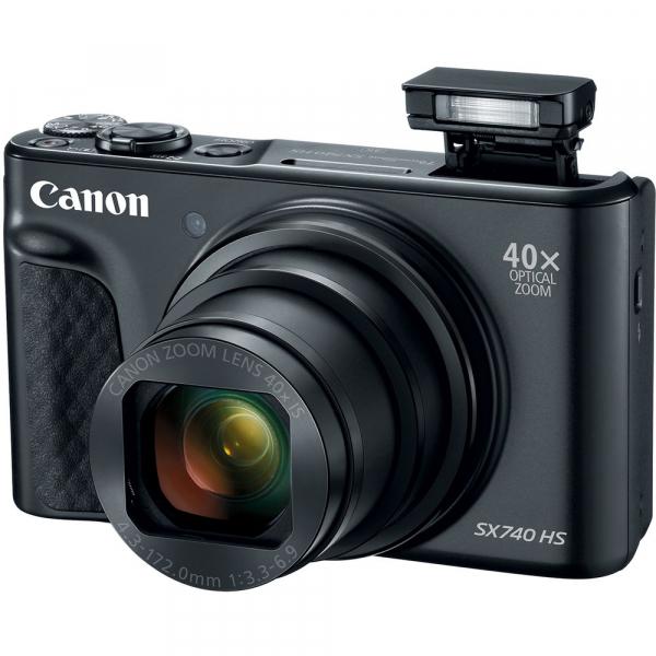 Canon PowerShot SX740 HS Negru 5