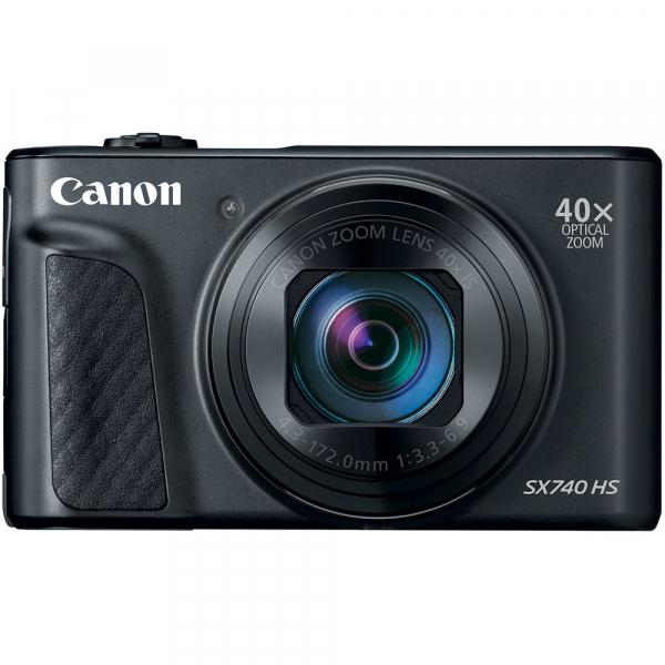 Canon PowerShot SX740 HS Negru 0