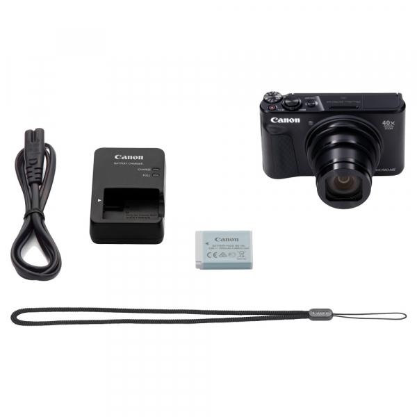 Canon PowerShot SX740 HS Negru 9