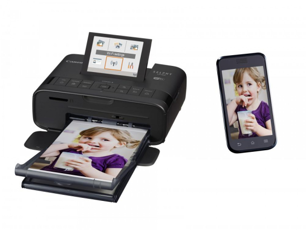 Canon SELPHY CP1300 - imprimanta foto 10x15cm Wi-Fi, negru 1