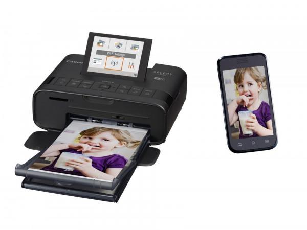 Canon SELPHY CP1300 - imprimanta foto 10x15cm Wi-Fi, negru + Kit Creative Hartie si Cerneala 2