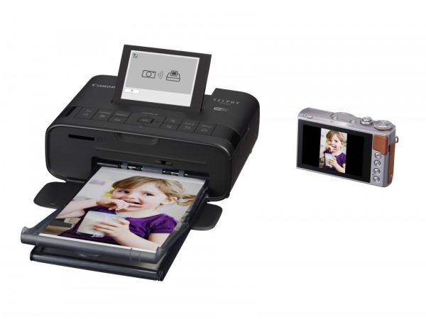 Canon SELPHY CP1300 - imprimanta foto 10x15cm Wi-Fi, negru + Kit Creative Hartie si Cerneala 1