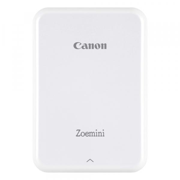 Canon Zoemini - imprimanta foto portabila cu Tehnologie Zink (Zero Ink) - alb 0