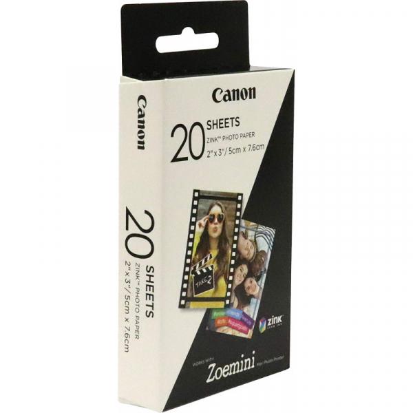 Canon Zoemini ZP-2030 -Hartie Foto Instant Zink 20 Coli 5 x 7,6cm 1