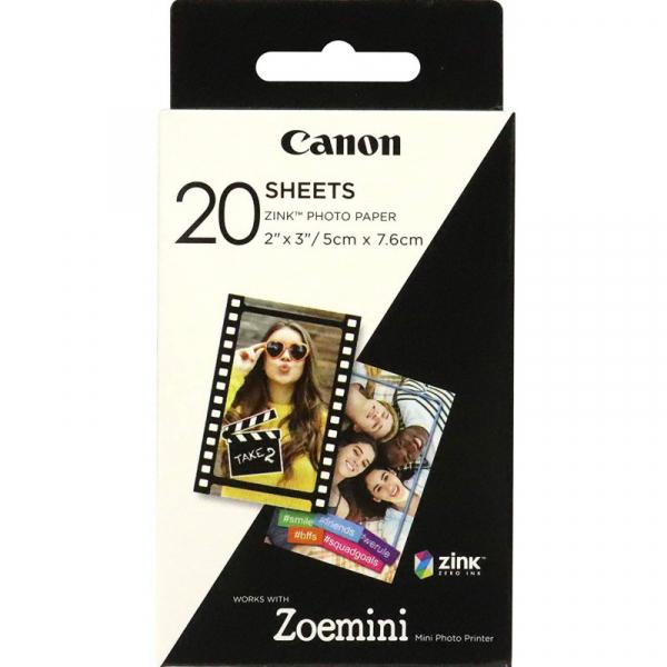 Canon Zoemini ZP-2030 -Hartie Foto Instant Zink 20 Coli 5 x 7,6cm 0