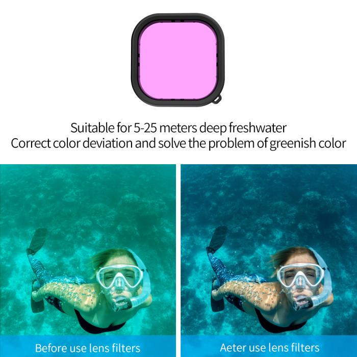 Carcasă subacvatica impermeabilă pentru Gopro Hero 9 - GP-WTP-901 [8]