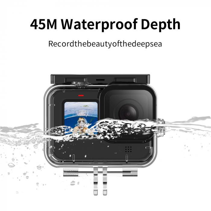 Carcasă subacvatica impermeabilă pentru Gopro Hero 9 - GP-WTP-901 [0]
