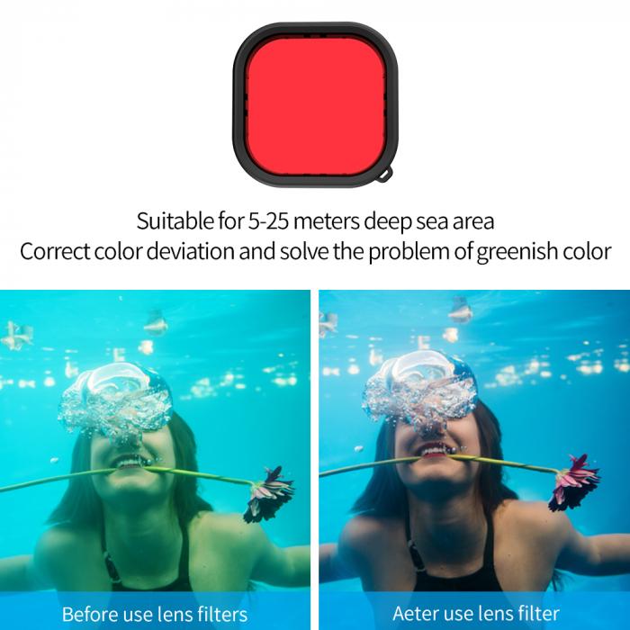 Carcasă subacvatica impermeabilă pentru Gopro Hero 9 - GP-WTP-901 [6]