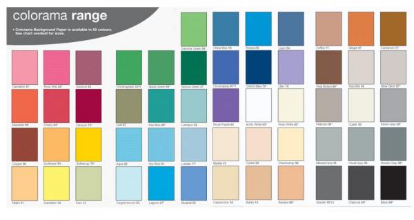 Colorama  Fundal hartie 2.72m x 11m - ARTIC WHITE 1