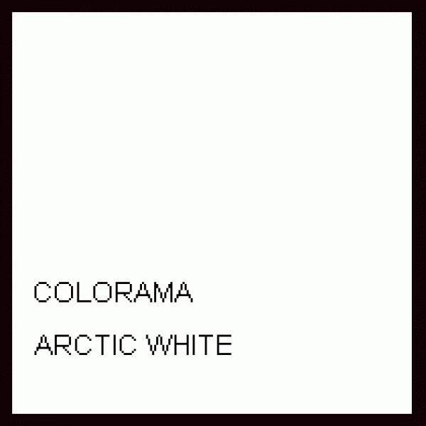 Colorama  Fundal hartie 2.72m x 11m - ARTIC WHITE 0