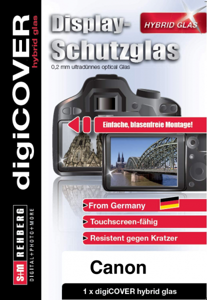 DigiCOVER Hybrid Glass protectie ecran LCD - pentru Canon EOS R [0]