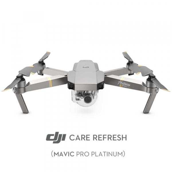 DJI Mavic Pro Platinum Fly More Combo + Care Refresh 0
