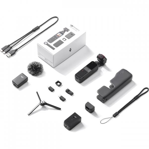 DJI OSMO Pocket 2 Creator Combo Gimbal - Stabilizator telefon [1]