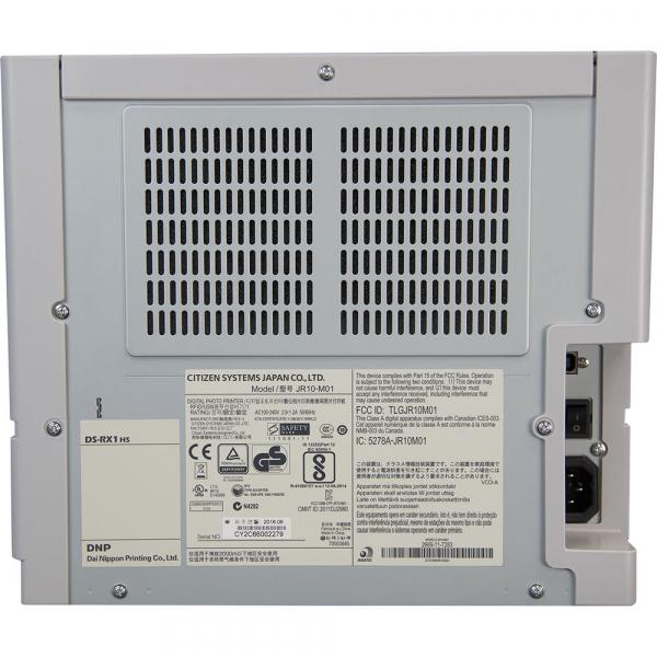 DNP DS-RX1HS - Imprimanta Dye-sub + 1 hartie 10x15cm , 1400 printuri 3