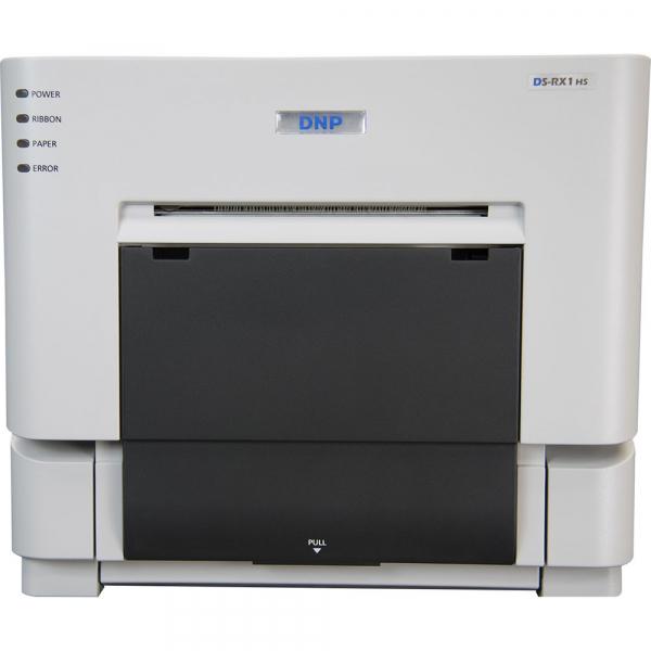 DNP DS-RX1HS - Imprimanta Dye-sub + 1 hartie 10x15cm , 1400 printuri 0